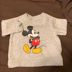 H&M baby boy Mickey Mouse sweater